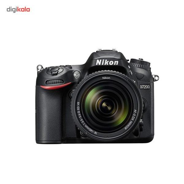 دوربین دیجیتال نیکون مدل D7200 به همراه لنز 18-140 میلی متر