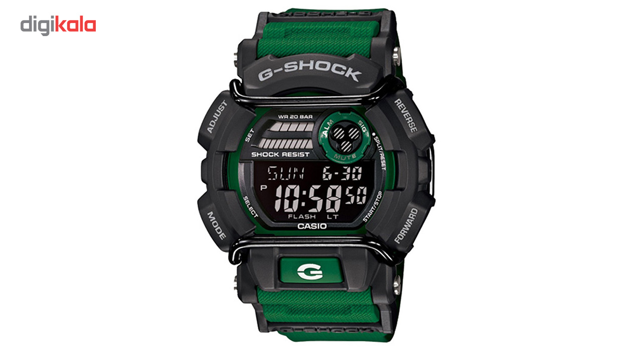 ساعت مچی دیجیتالی مردانه کاسیو جی شاک مدل GD-400-3DR