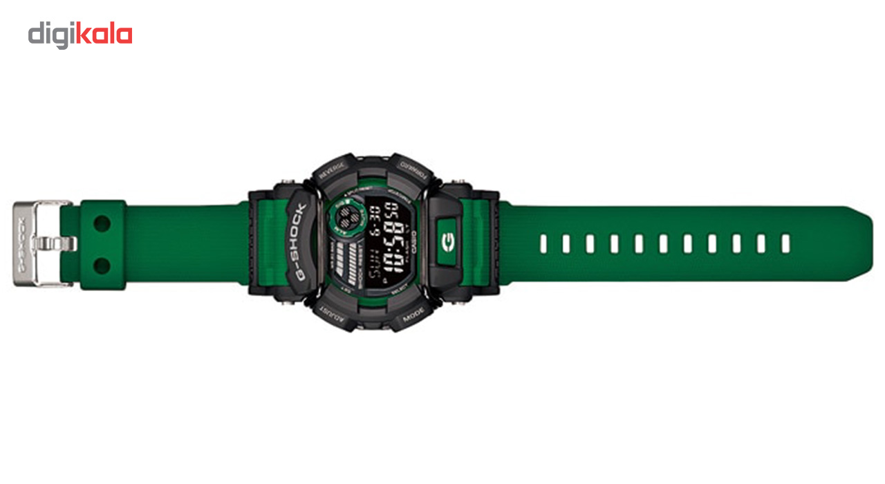 ساعت مچی دیجیتالی مردانه کاسیو مدل GD-400-3DR             قیمت