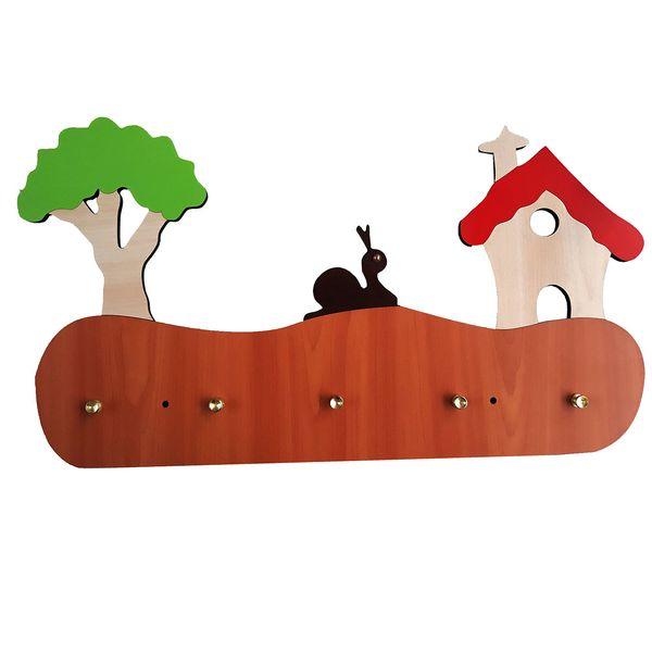 آویز دیواری اتاق کودک پینو مدل حلزون