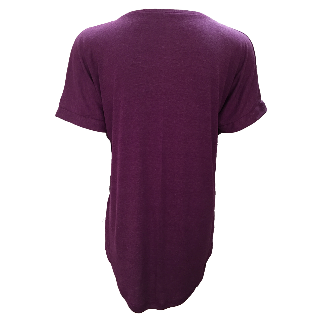 تی شرت آستین کوتاه زنانه مدل WATERFALL کد tms-853 رنگ بنفش