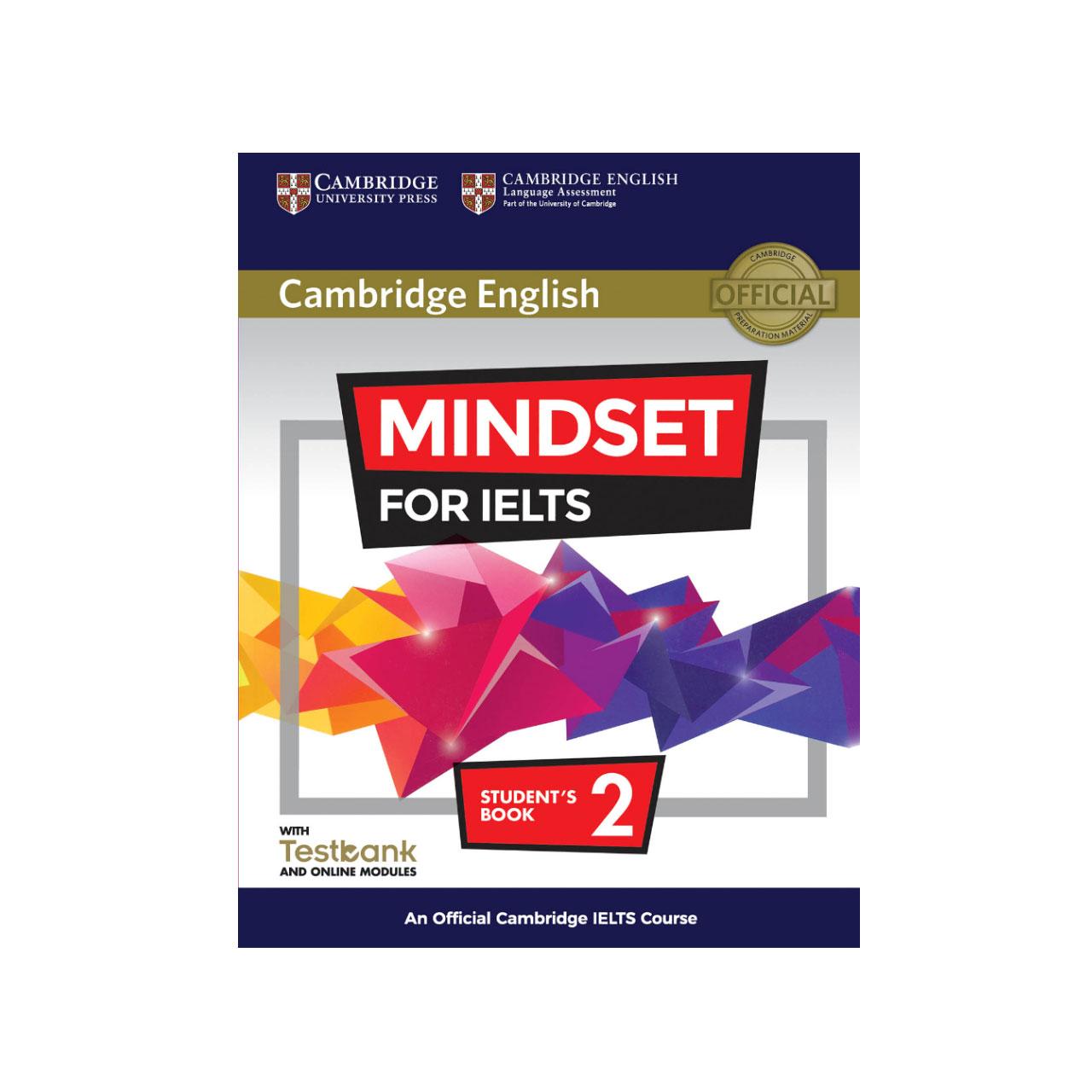 کتاب زبان Cambridge English Mindset For IELTS 2 Student Book همراه با CD