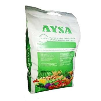 کود سولفات آهن 20 درصد تتاکو مدل AYSA  بسته 10 کیلوگرمی