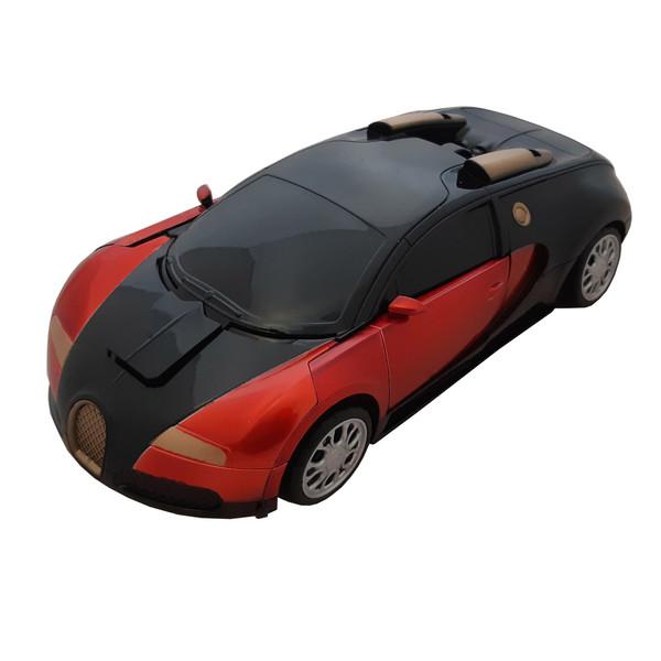 ماشین اسباب بازی تبدیل شونده ترانسفورمر بوگاتی مدل 918