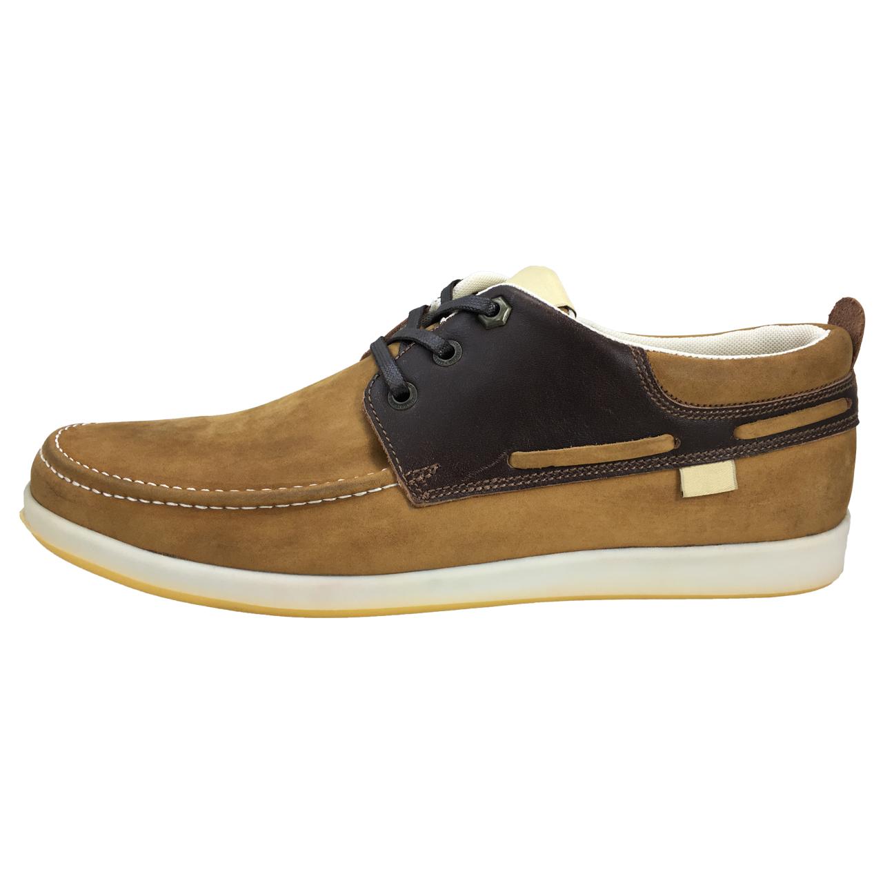قیمت کفش مردانه چرم مدل آتا کد 2413