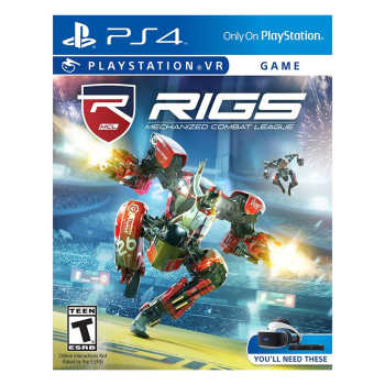 بازی Rigs Mechanized Combat League مخصوص Ps4