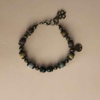 دستبند زنانه مدل شبدر کد 001