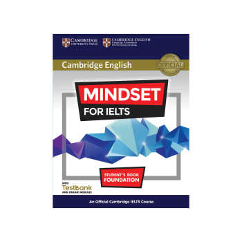 کتاب زبان Cambridge English Mindset For IELTS Foundation Student Book همراه با CD