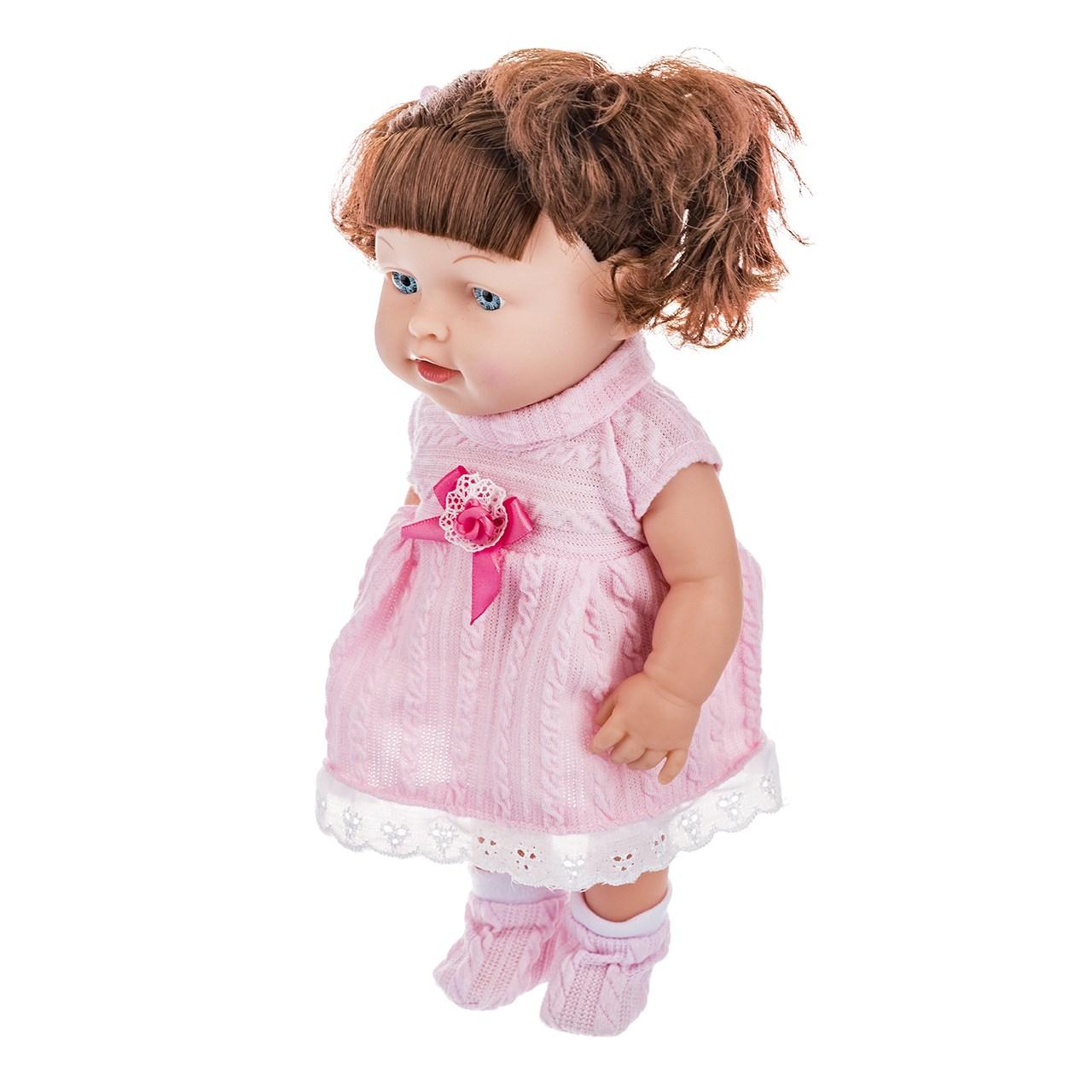 عروسک مدل Pink Stripes ارتفاع 29 سانتی متر