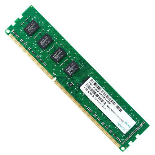 رم کامپیوتر اپیسر مدل UNB PC3-10600 CL9 DDR3 1333MHz ظرفیت 4 گیگابایت