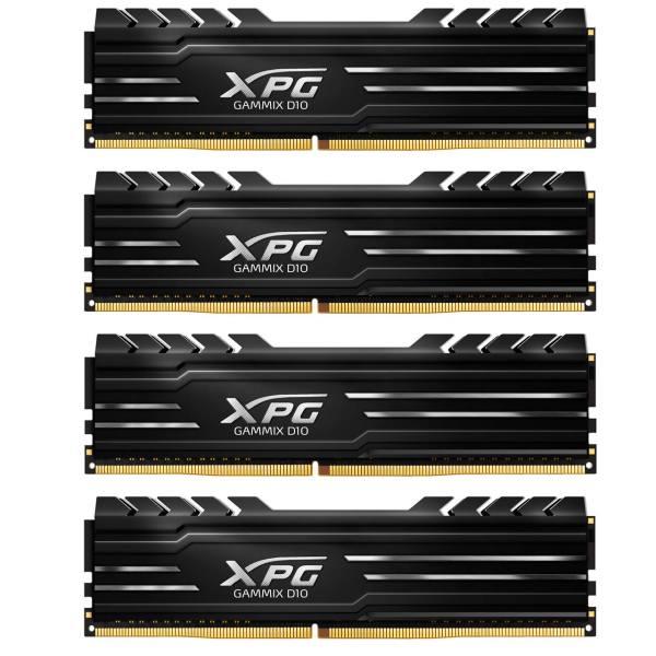 رم کامپیوتر دو کاناله DIMM ای دیتا مدل XPG GAMMIX D10 با فرکانس 2400 مگاهرتز ظرفیت 32 گیگابایت