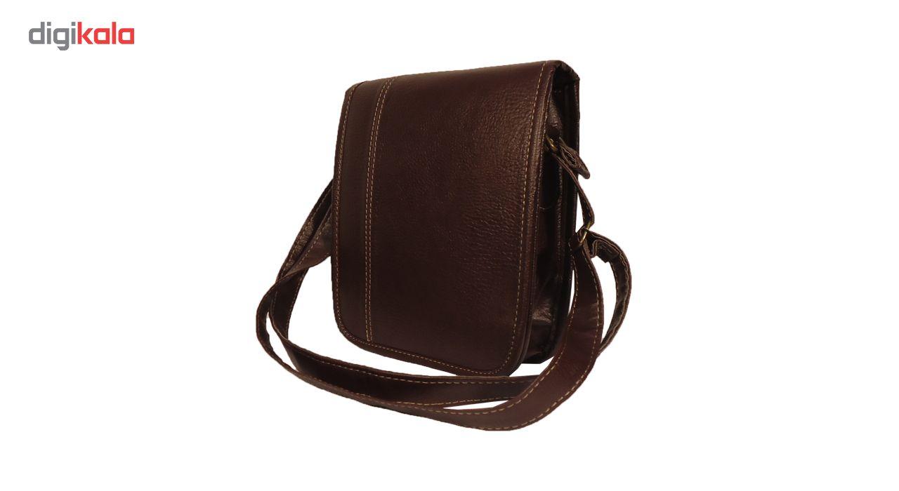 کیف رو دوشی  مردانه سالار مدل E145 main 1 1