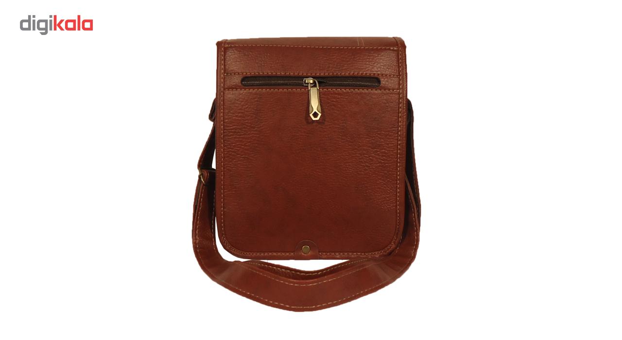 کیف رو دوشی  مردانه سالار مدل E145 main 1 2