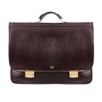 کیف اداری مردانه چرم نیروانا مدل A449