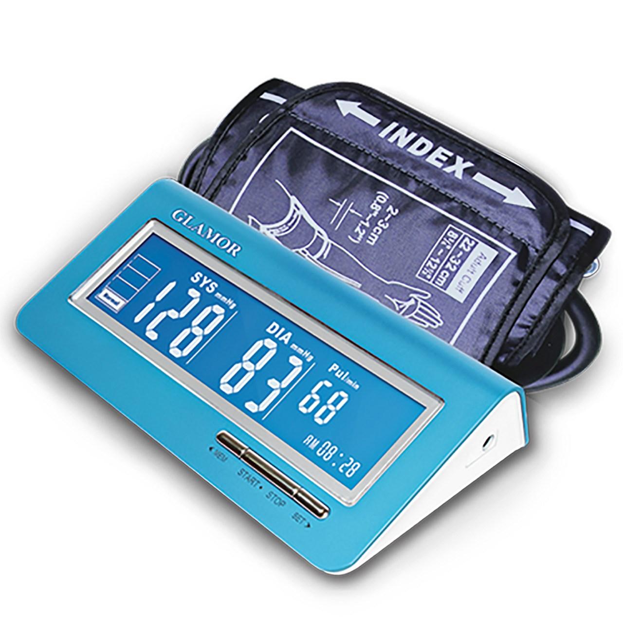 فشارسنج بازویی دیجیتال گلامور مدل TMB1018 | Glamor TMB1018 Digital Blood Pressure Monitor