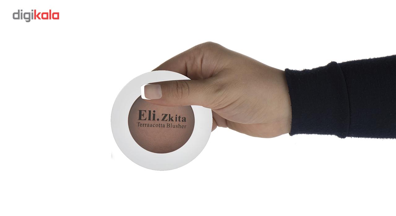 رژگونه تراکوتا  الیزکیتا مدلEZ02  شماره 2