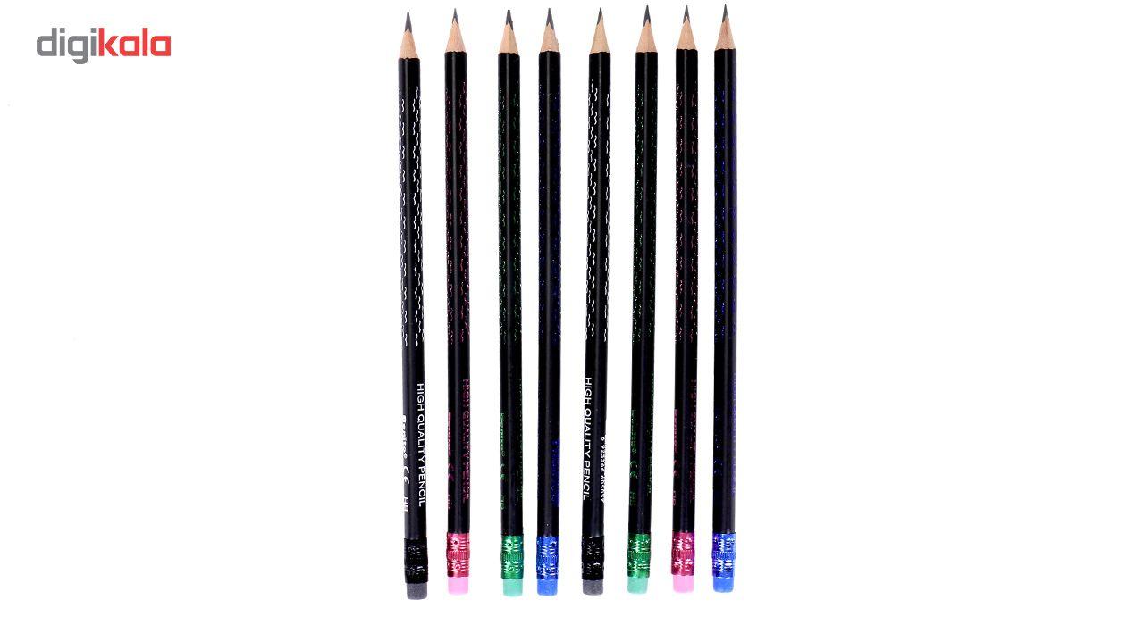 مداد مشکی مدل Benito HB بسته 12 عددی main 1 3