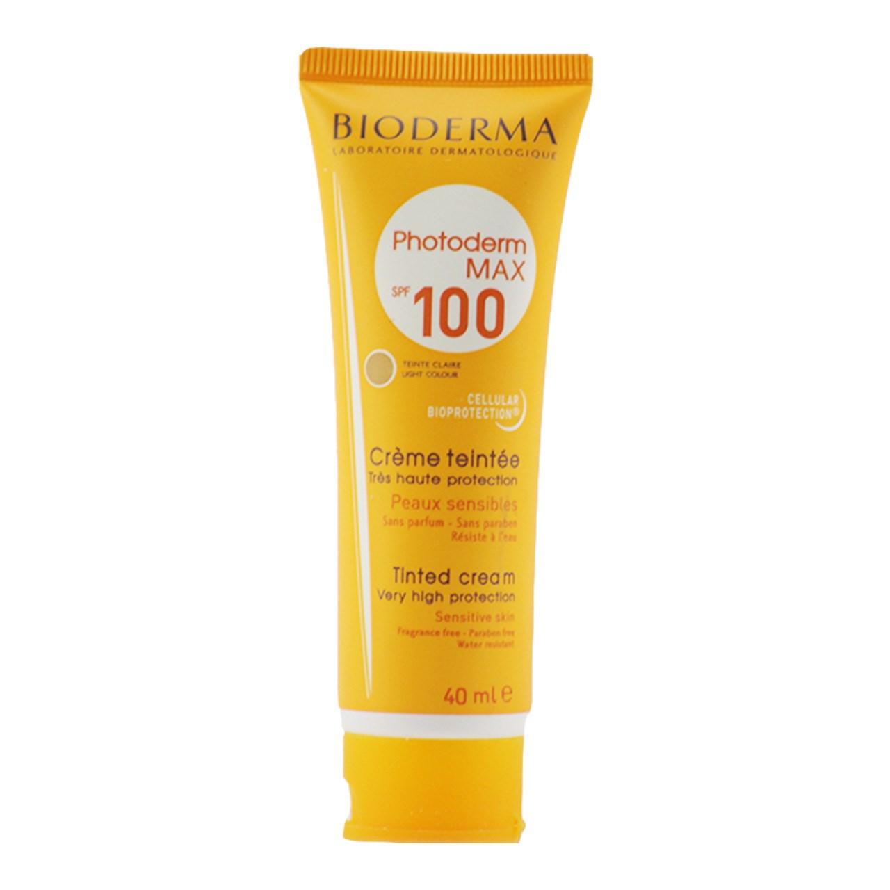 قیمت ضد آفتاب  بایودرما مدل Photoderm max حجم 40 میلی لیتر