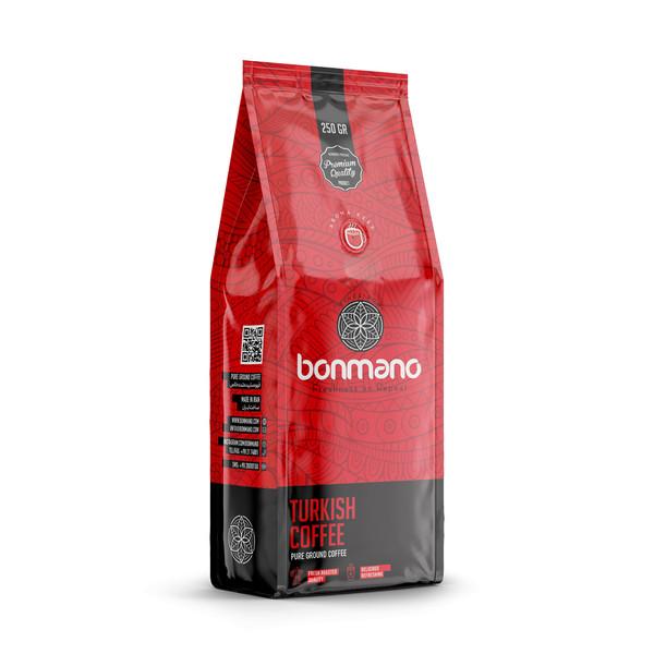 قهوه ترک بن مانو مقدار 250 گرم