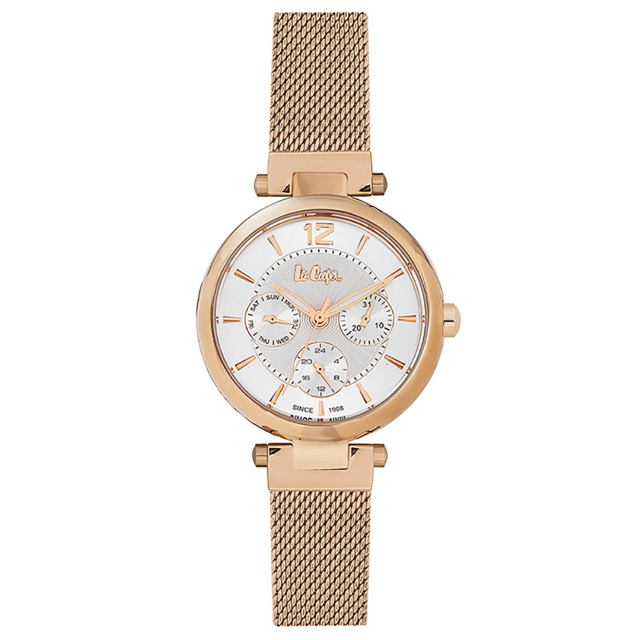 ساعت مچی عقربه ای زنانه لی کوپر مدل LC06264.430