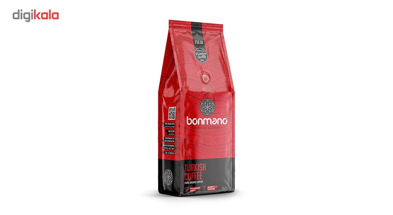 قهوه ترک بن مانو مقدار 250 گرم main 1 1