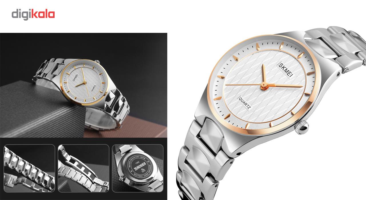 ساعت مچی عقربه ای زنانه اسکمی مدل 1282 کد 01