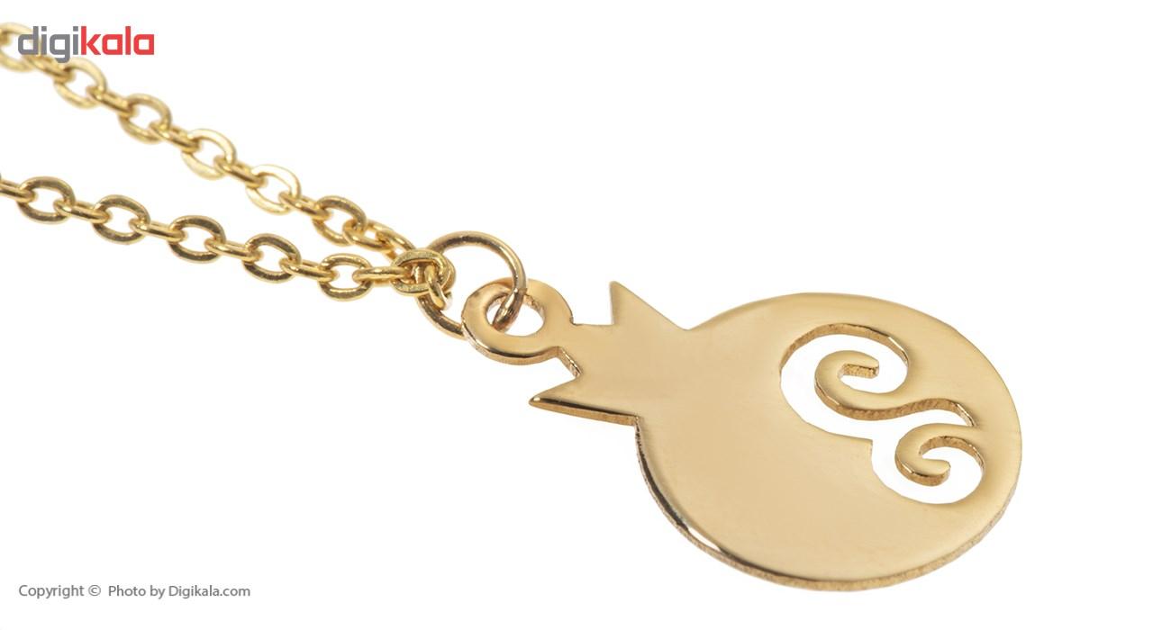 آویز ساعت طلا 18 عیار ماهک مدل MW0070 - مایا ماهک