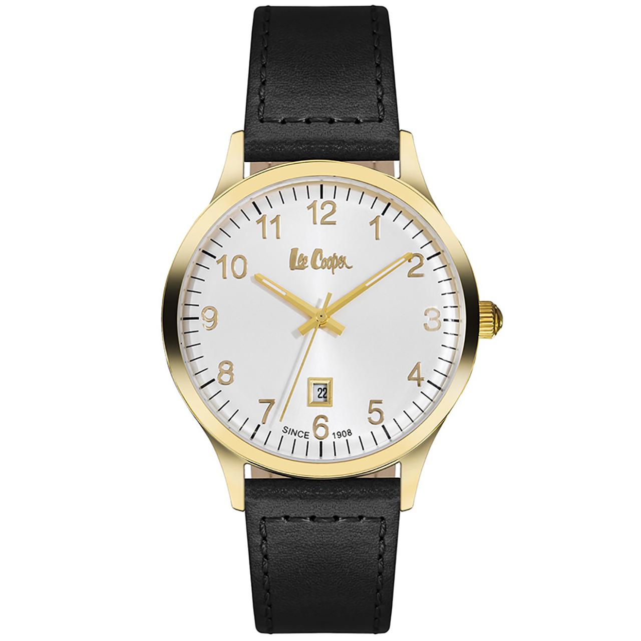 ساعت مچی عقربه ای مردانه لی کوپر مدل LC06296.131