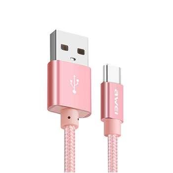 کابل تبدیل USB به USB-C اووی مدل CL-85 به طول 30 سانتی متر