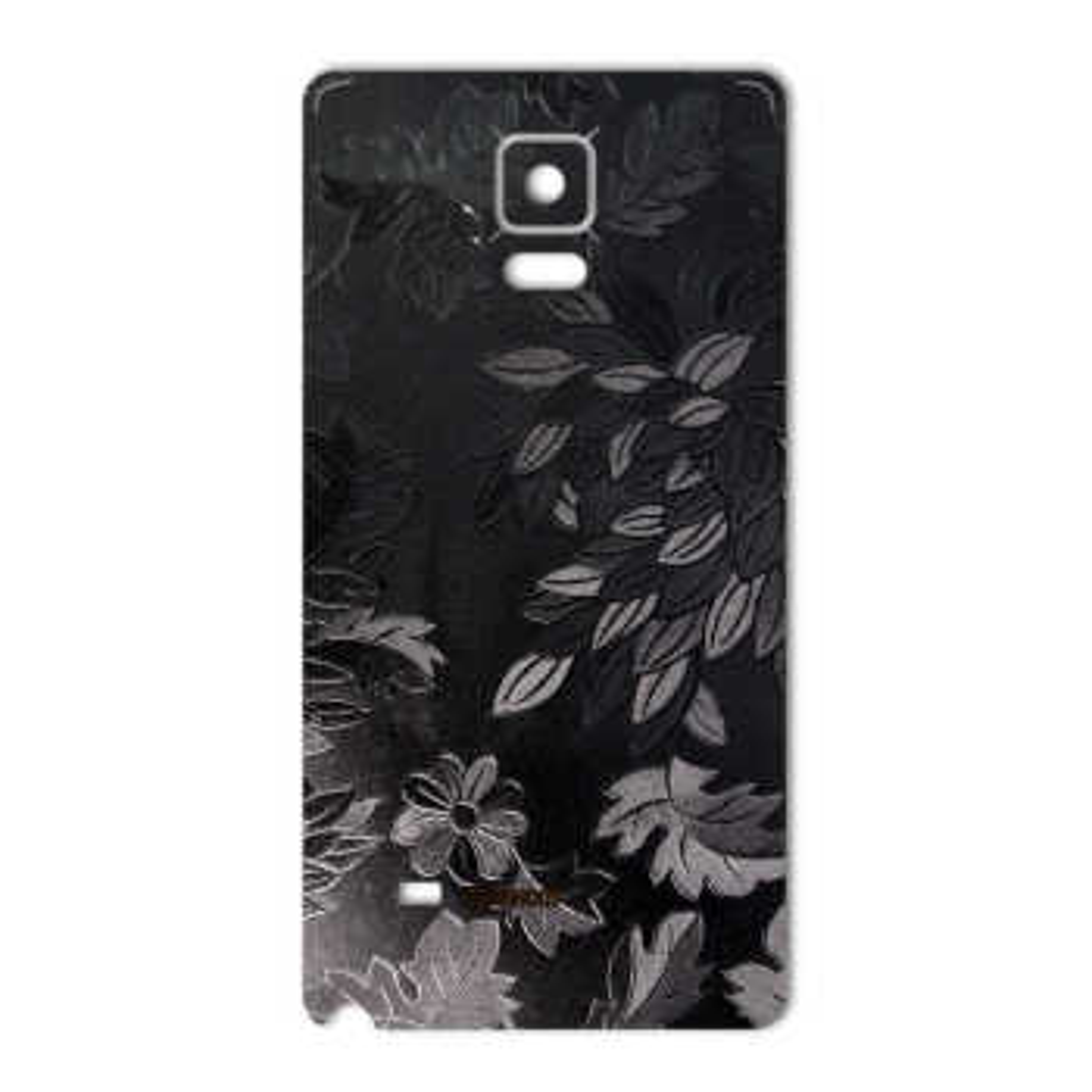 برچسب پوششی ماهوت مدل Wild-flower Texture مناسب برای گوشی  Samsung Note 4