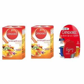شیرین کننده رژیمی کاندرل مدل Sucralose بسته 3 عددی