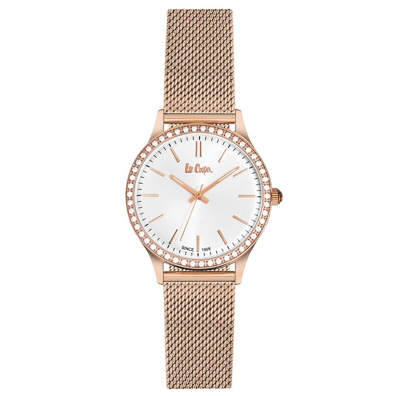 ساعت مچی عقربه ای زنانه لی کوپر مدل LC06304.430 34