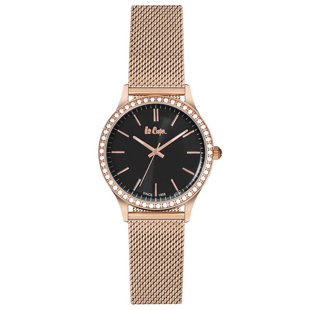 ساعت مچی عقربه ای زنانه لی کوپر مدل LC06304.450