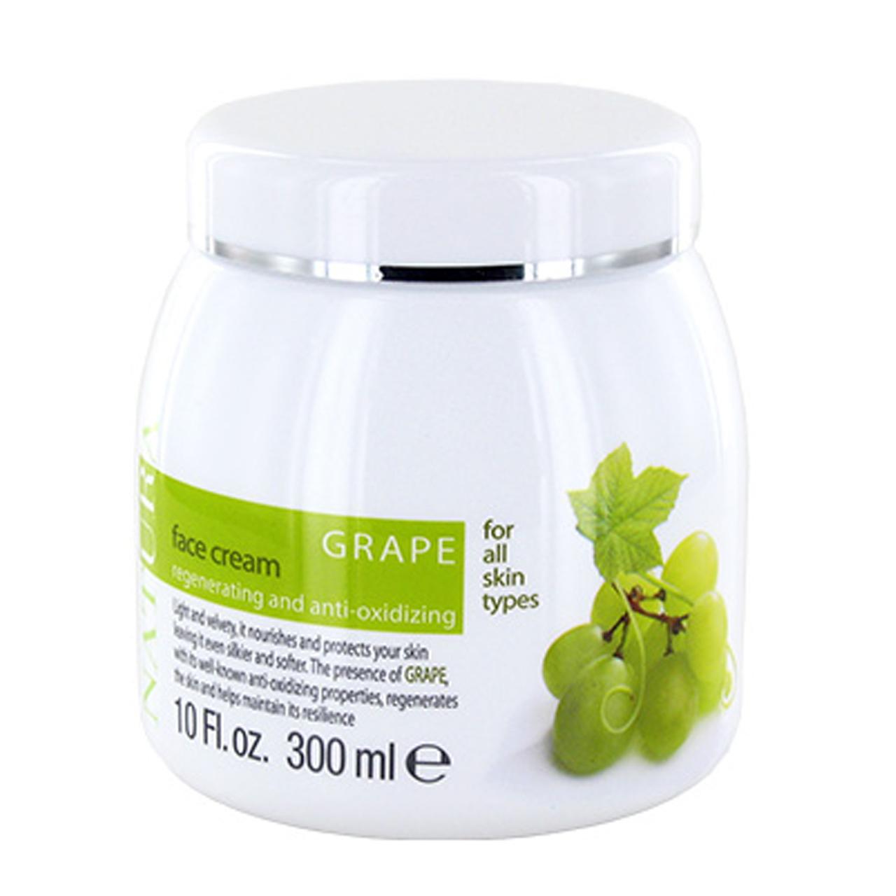 کرم صورت کلیون مدل Grape Face Cream حجم 300 میلی لیتر