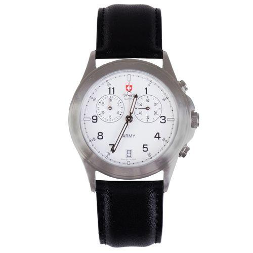 ساعت مچی عقربه ای کرونوگراف سوئیس آرمی مدل 12202C