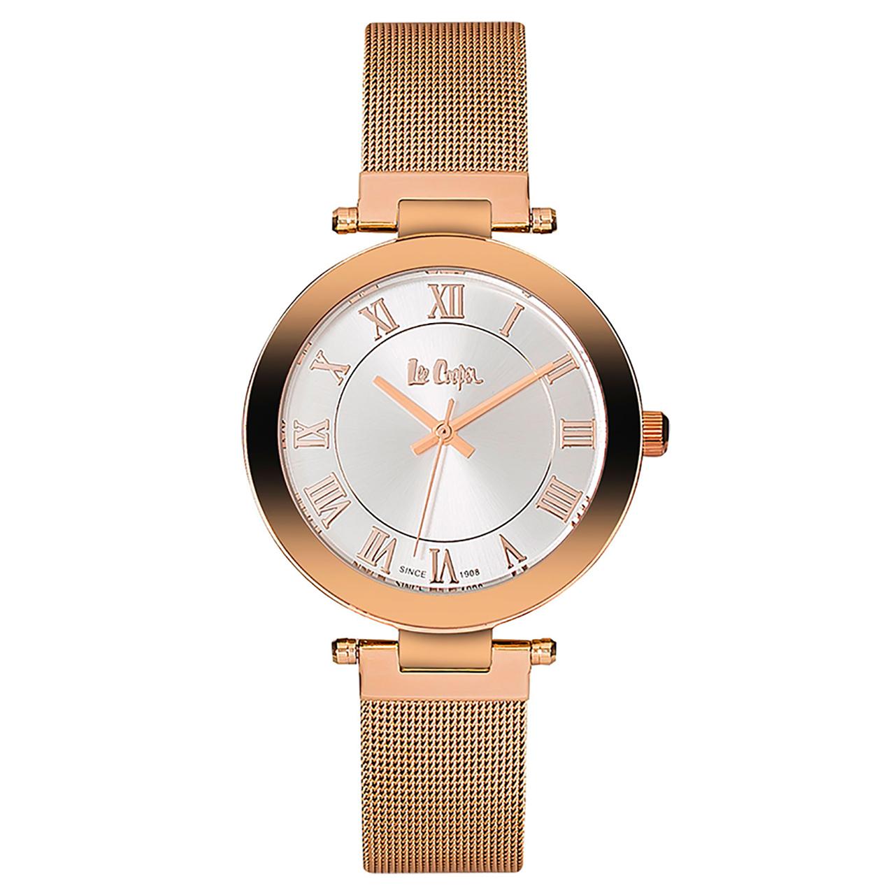 ساعت مچی عقربه ای زنانه لی کوپر مدل LC06333.430 21