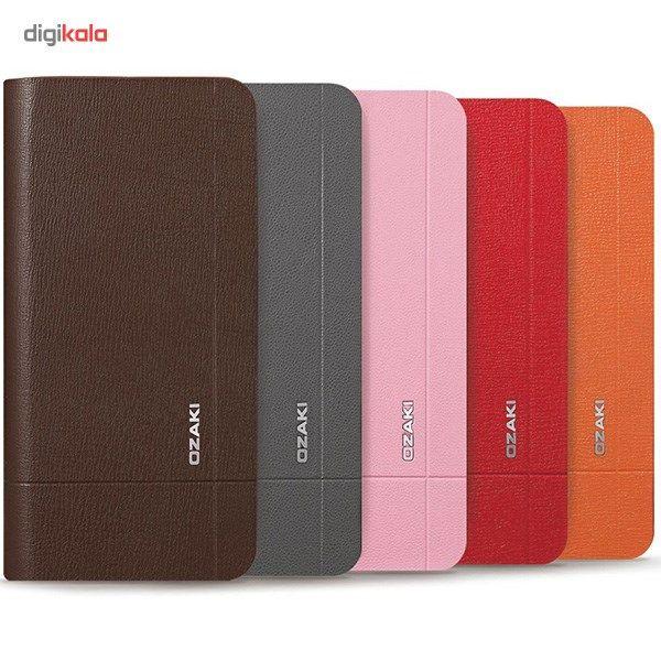 کیف کلاسوری اوزاکی مدل Ocoat Aim مناسب  گوشی موبایل آیفون 6 پلاس و 6s پلاس main 1 5