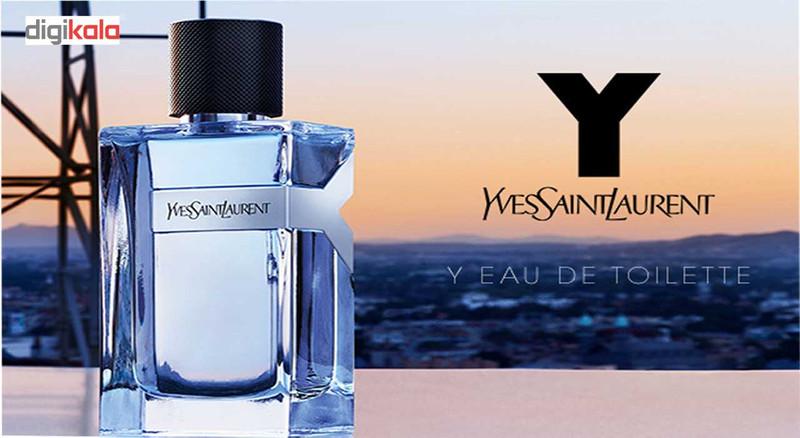 تستر ادوتویلت مردانه ایوسن لوران مدل Yves Saint Laurent Y حجم 100 میلی لیتر