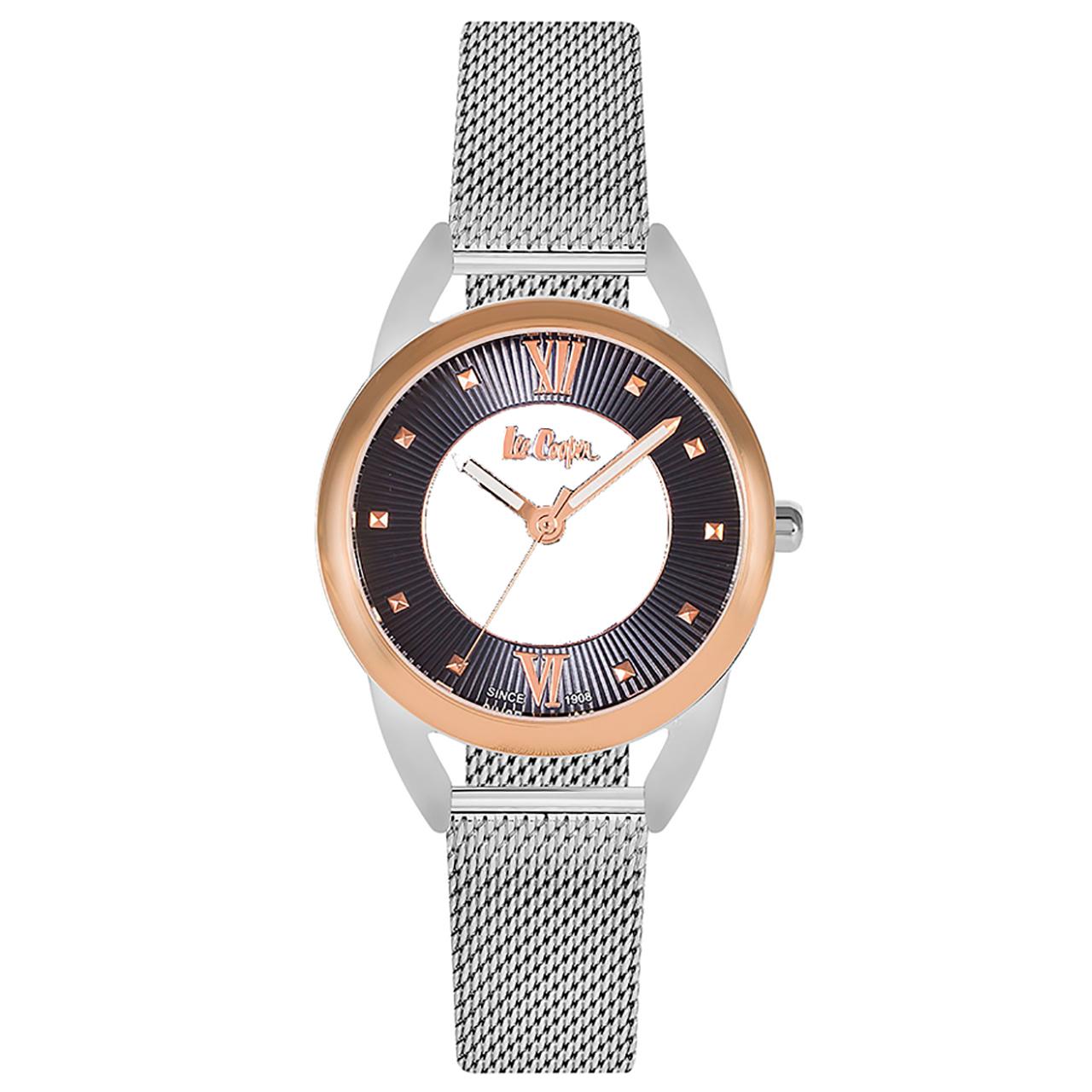 ساعت مچی عقربه ای زنانه لی کوپر مدل LC06350.590