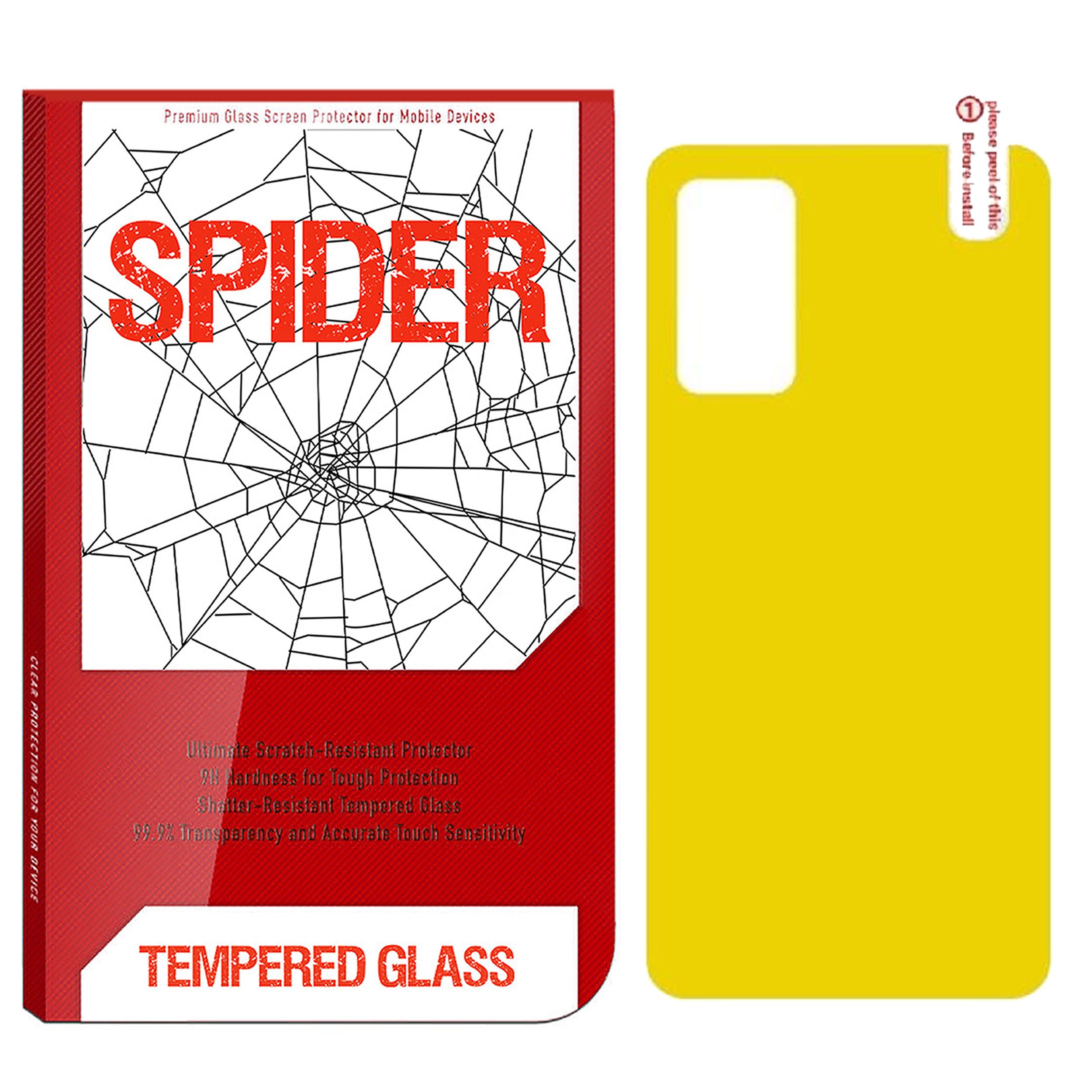 محافظ پشت گوشی اسپایدر مدل TPP-01 مناسب برای گوشی موبایل سامسونگ Galaxy Note 10 Lite              ( قیمت و خرید)