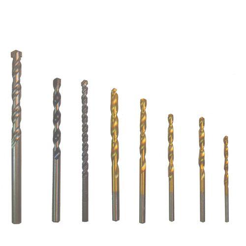مجموعه 8 عددی مته فلز چوب الماسه X6