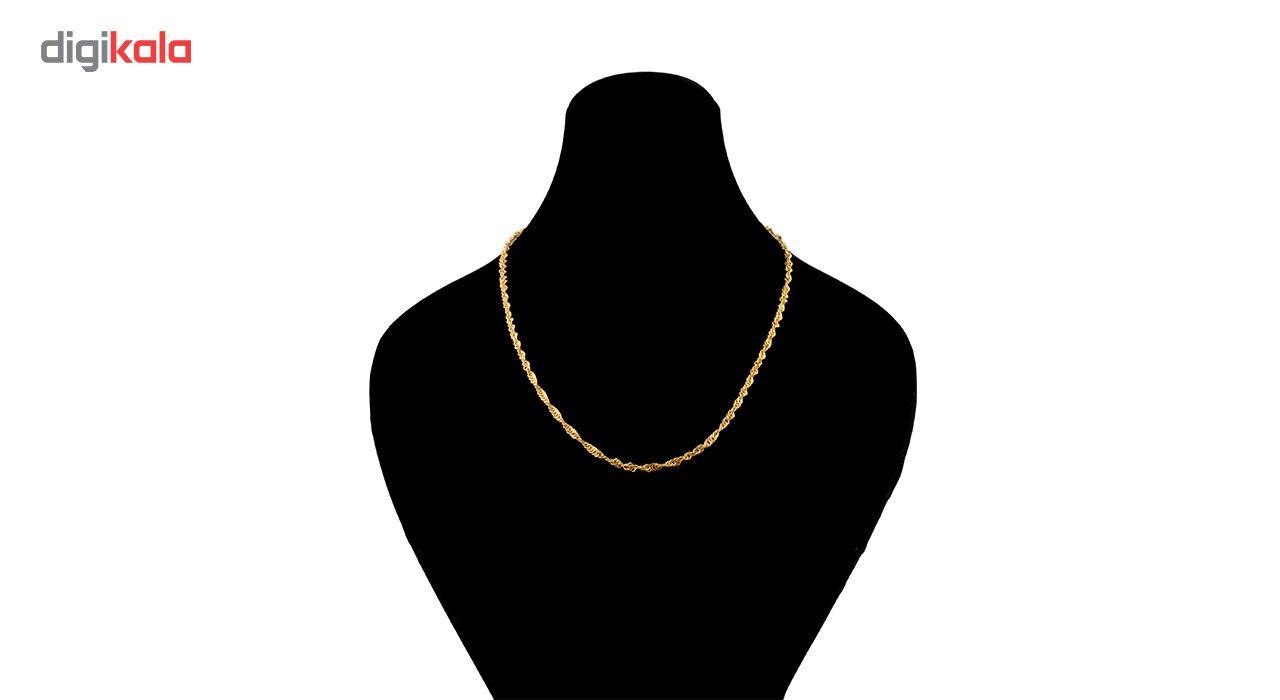 زنجیر طلا 18 عیار گالری طلاچی مدل دیسکو main 1 1