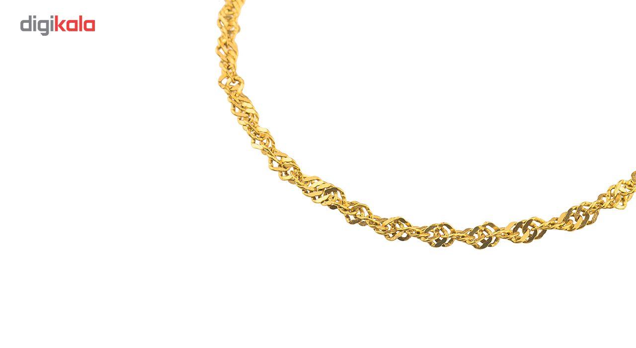 زنجیر طلا 18 عیار گالری طلاچی مدل دیسکو main 1 3