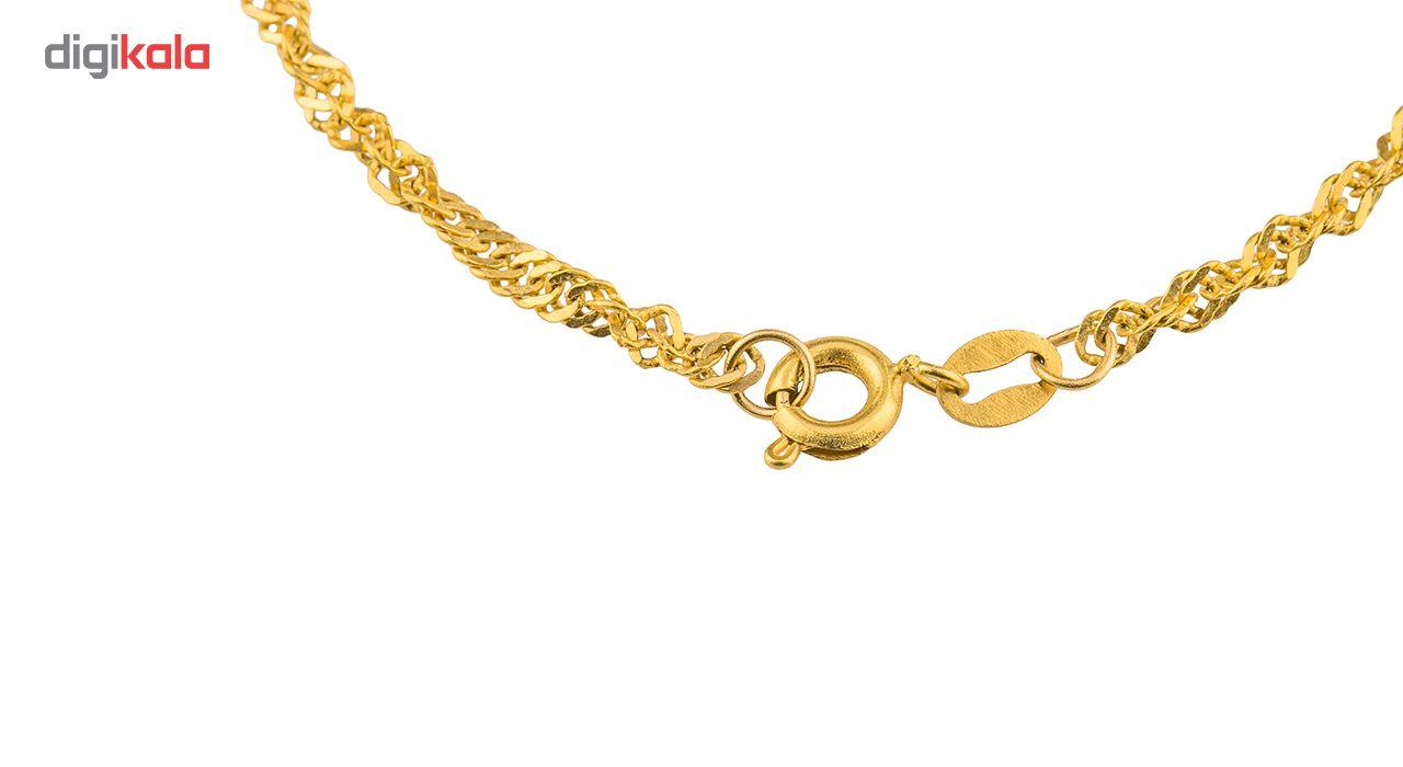 زنجیر طلا 18 عیار گالری طلاچی مدل دیسکو main 1 4