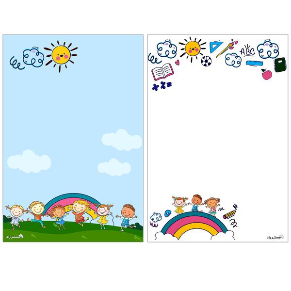 کاغذ یادداشت مستر راد طرح کودک بسته 50 عددی