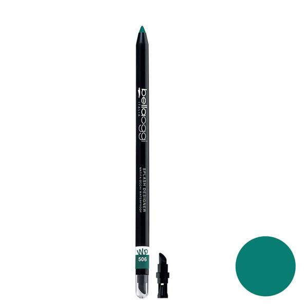 مداد چشم ضد آب بلاوجی مدل اسپلش دیزاینر شماره 506