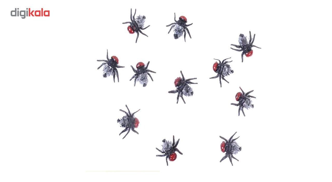 ابزار شوخی مدل بسته حشرات مصنوعی مگس main 1 3