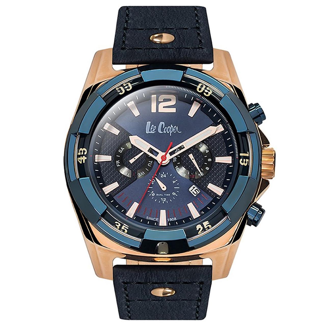 ساعت مچی عقربه ای مردانه لی کوپر مدل LC06364.999