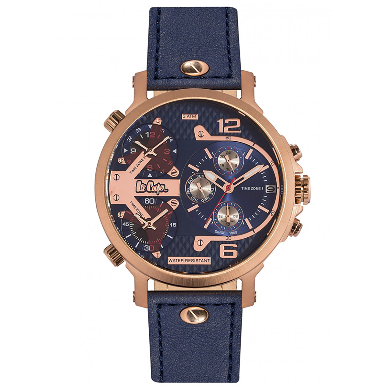 ساعت مچی عقربه ای مردانه لی کوپر مدل LC06367.499 46