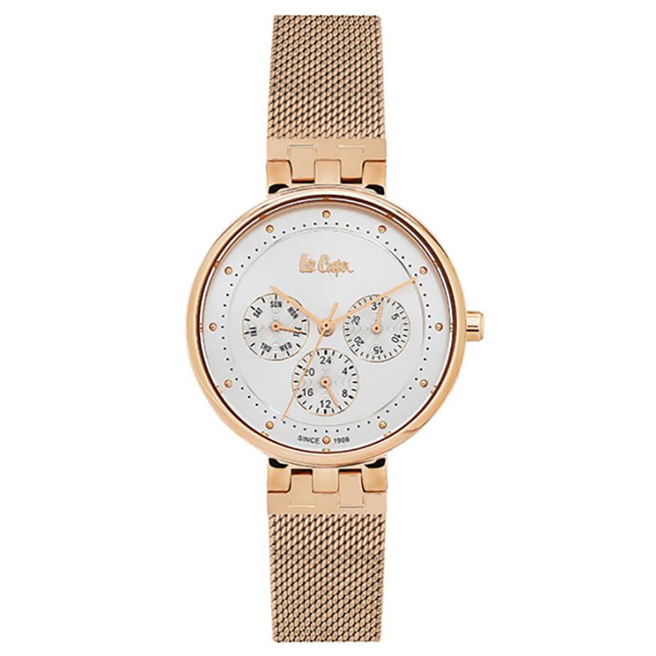 ساعت مچی عقربه ای زنانه لی کوپر مدل LC06390.430